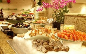 Orchard hotel buffet