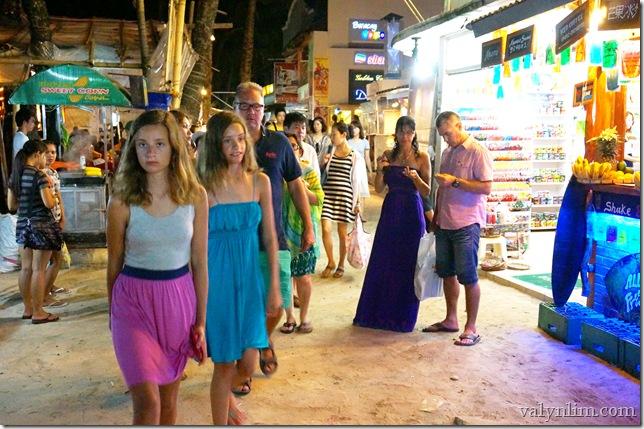菲律宾长滩岛(8)夜生活, Sea Breeze Cafe, 看Amazing Show, Jonah Fruitshake